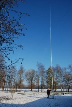Vertical groundplane antenne